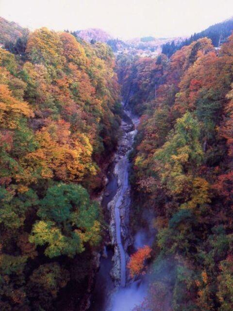 小安峡の写真
