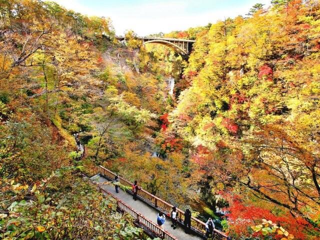 鳴子峡の写真