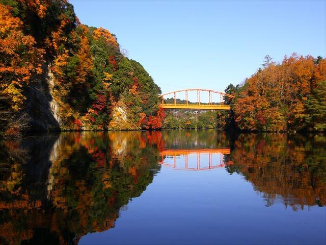 亀山湖の写真