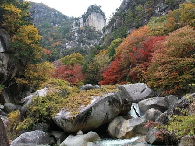 昇仙峡(仙娥滝周辺)の写真