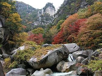 昇仙峡(仙娥滝周辺)