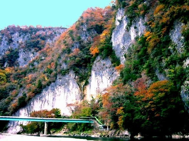 井倉峡の写真