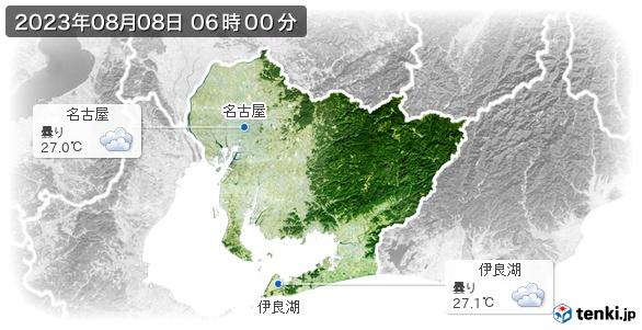 愛知県の現在の天気(全国)