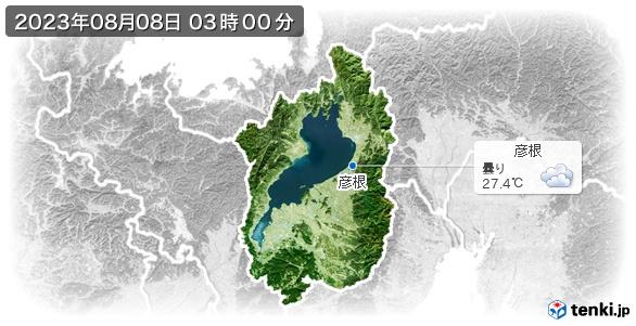 滋賀県の現在の天気(全国)