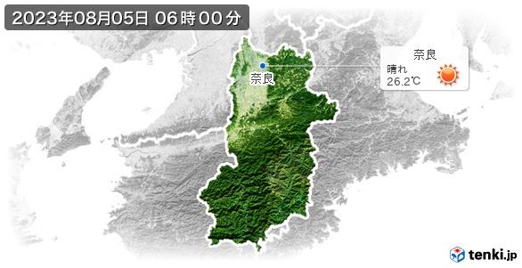 奈良県の現在の天気(全国)