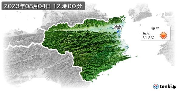 徳島県の現在の天気(全国)