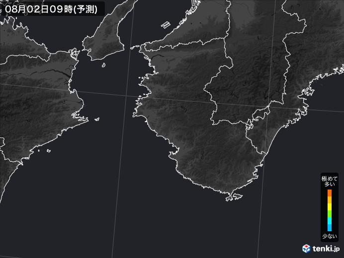 和歌山県のPM2.5分布予測
