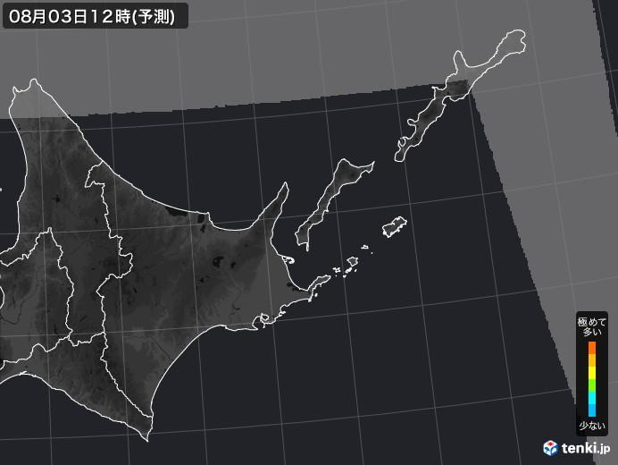 道東のPM2.5分布予測