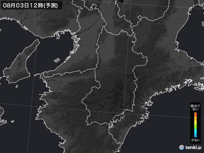 奈良県のPM2.5分布予測 - 日本気象協会 tenki.jp