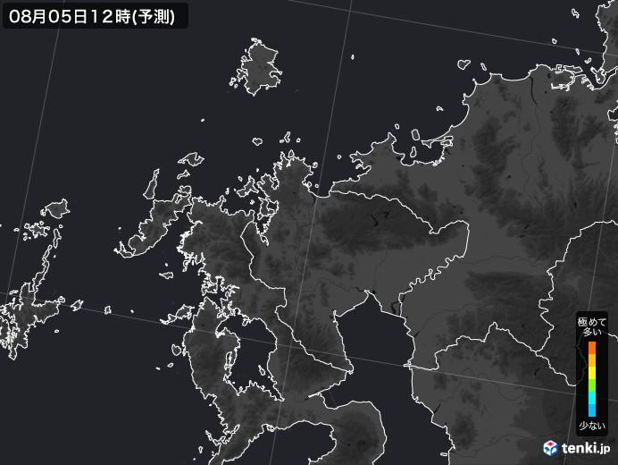 佐賀県のPM2.5分布予測