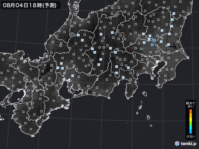 東海地方のPM2.5分布予測