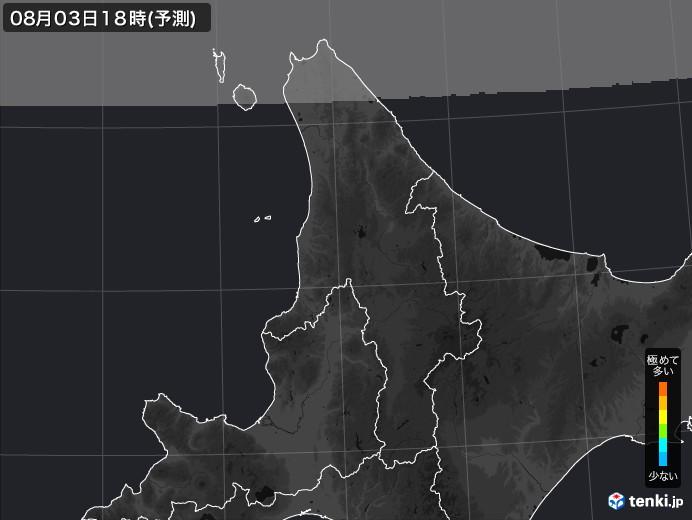 道北のPM2.5分布予測