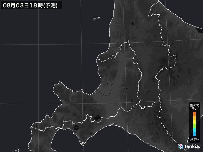 道央のPM2.5分布予測
