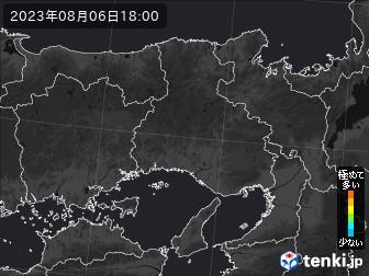 兵庫県のPM2.5分布予測
