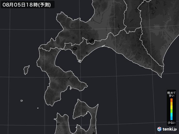 道南のPM2.5分布予測