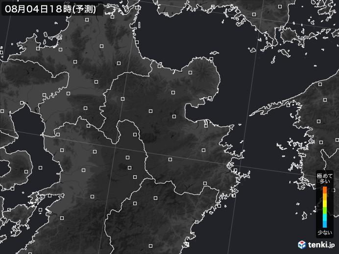 大分県のPM2.5分布予測