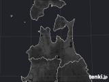 青森県のPM2.5分布予測