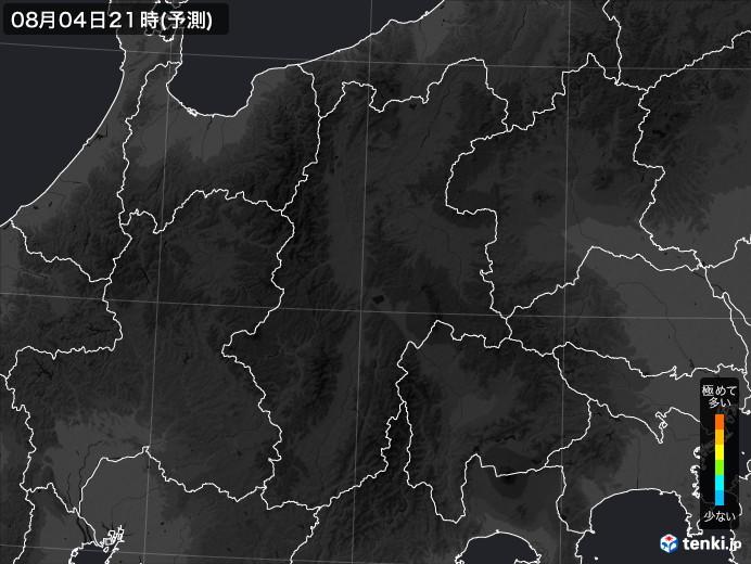 長野県のPM2.5分布予測