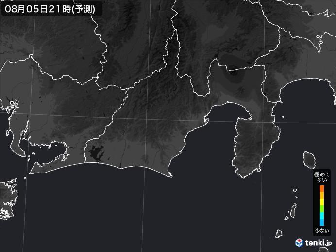 静岡県のPM2.5分布予測