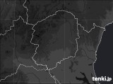 栃木県のPM2.5分布予測