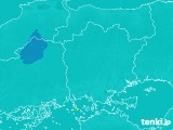 岡山県のPM2.5分布予測