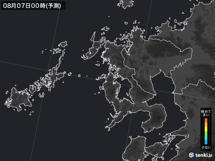 長崎県のPM2.5分布予測