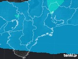 三重県のPM2.5分布予測
