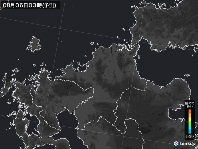 福岡県のPM2.5分布予測
