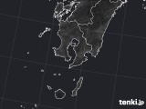 鹿児島県のPM2.5分布予測