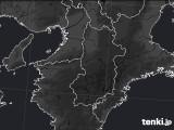 奈良県のPM2.5分布予測