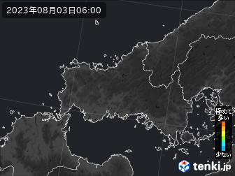 山口県のPM2.5分布予測