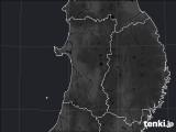 秋田県のPM2.5分布予測