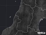 山形県のPM2.5分布予測