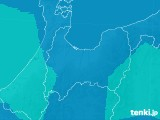 富山県のPM2.5分布予測