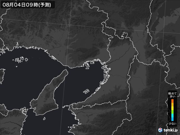 大阪府のPM2.5分布予測