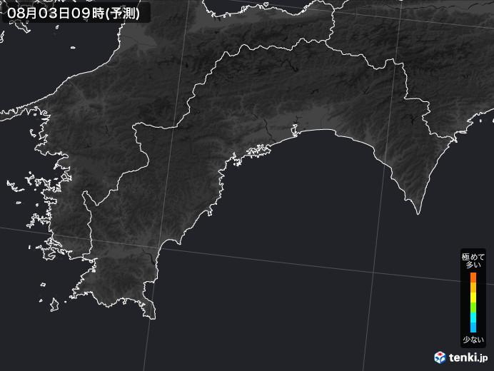高知県のPM2.5分布予測