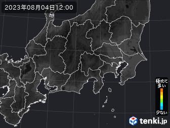 PM2.5分布予測(関東・甲信地方)