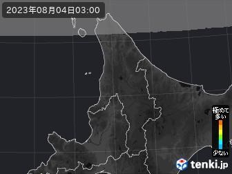 PM2.5分布予測(道北)