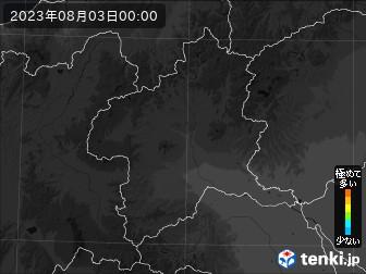 PM2.5分布予測(群馬県)
