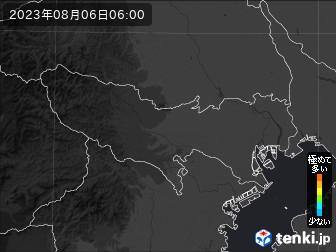 PM2.5分布予測(東京都)