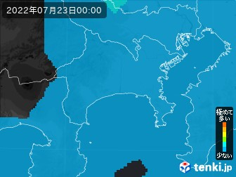 PM2.5分布予測(神奈川県)