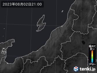 PM2.5分布予測(新潟県)