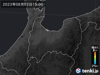 PM2.5分布予測(富山県)