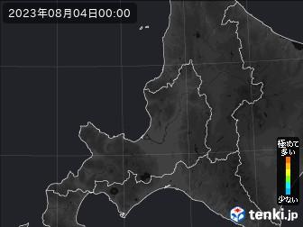 PM2.5分布予測(道央)