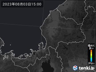 PM2.5分布予測(福井県)