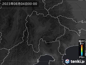 PM2.5分布予測(山梨県)