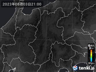 PM2.5分布予測(長野県)