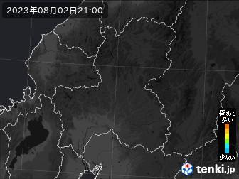 PM2.5分布予測(岐阜県)