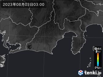 PM2.5分布予測(静岡県)