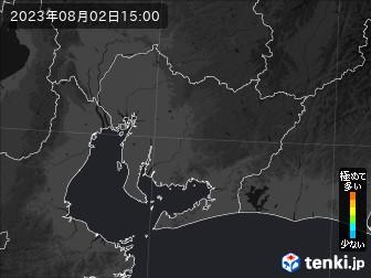 PM2.5分布予測(愛知県)